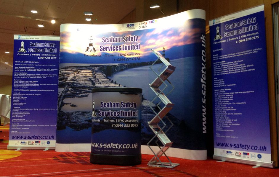 Exhibition Literature Stand : Excel signs & exhibitions design manufacture installation