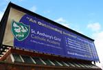 Mesh Banner; banner; 340gsm; Installation